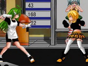 Schoolgirl Street Fighter Hacked