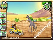 Diego's African Offroad Rescue Walkthrough