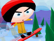 Play Snowboard Slopes