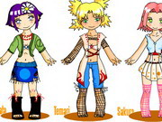 Play Mini Naruto Dress Up