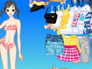 Spring Leaves Dressup