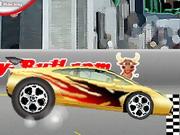لعبة سباق سيارات كبير