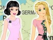 Disney hercegnők Európa körül