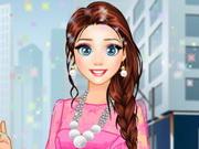 Elsa modern fashion 2 qiqigames com play free games online