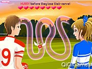 Play Highschool Sweethearts Kissing Game