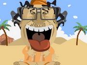 لعبة ضرب القذافي