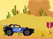 لعبة قيادة عربات الصحراء