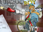 Newspaper Boy Hacked