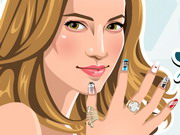 Jennifer Lopez Nail Salon