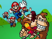 Mario vs Donkey Kong Hacked