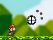 Mario with Rifle Hacked