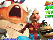 Play Monsters vs Aliens TD Hacked