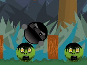 Play Ninja Vs Zombies Hacked