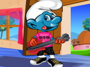 Smurf Dressup Game