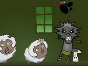 The Black Wolf Wants Sheep 2