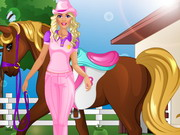 Barbie Goes Horse Riding