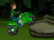 Play Ben 10 Bike Trail 2