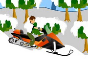 Ben 10 Snowmobile Hacked