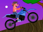 Crash Bandicoot Bike 2 Hacked