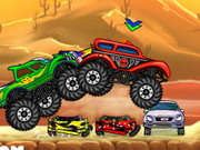 Crazy Monster Truck Hacked