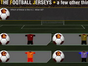 Football jerseys + quiz