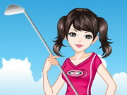 Play Golf Girl Dress Up