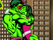 Play Hulk Kissing