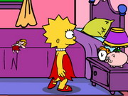 Lisa Simpson Saw Game Walkthrough