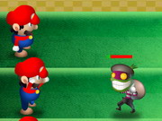 Mario Bros vs Monsters Defence Hacked