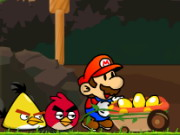 Mario vs AngryBirds