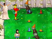 Play Nausea Heroes Vs Zombies