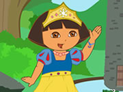 Princess Dora Dress up