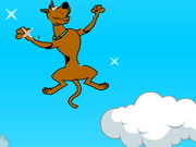 Scooby-doo jumping Clouds