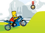 Simpsons Bike Ride Hacked