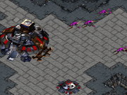 Play Starcraft Zergling Defence Hacked