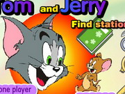 Tom And Jerry Find Stationery