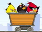 Angry Birds Dangerous Railroad Hacked