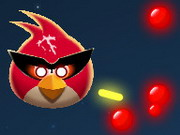 Angry Birds Space Battle Hacked