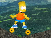 Bart Simpsons Skateboard Hacked