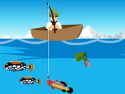 Ben 10 Fishing Game