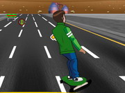 Ben 10 Highway Skateboarding Hacked