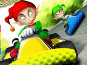 Chistmas Elf Race 3d
