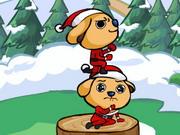 Karácsonyi kutyus