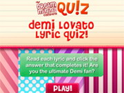Demi Lovato Lyric Quiz