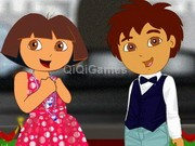 Dora & Diego In Red Carpet Show