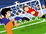 لعبة كرة قدم خطيرة