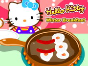 Hello Kitty Winter Breakfast