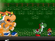 Mario And Yoshi Run