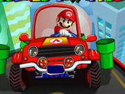 Mario World Traffic Hacked