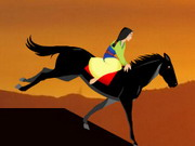Mulan Horse Riding Hacked